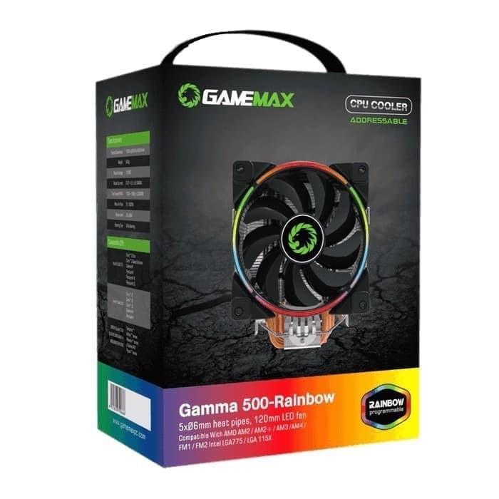 GAMEMAX GAMMA 500-RAINBOW COOLING FAN